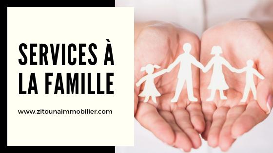 Services à la famille